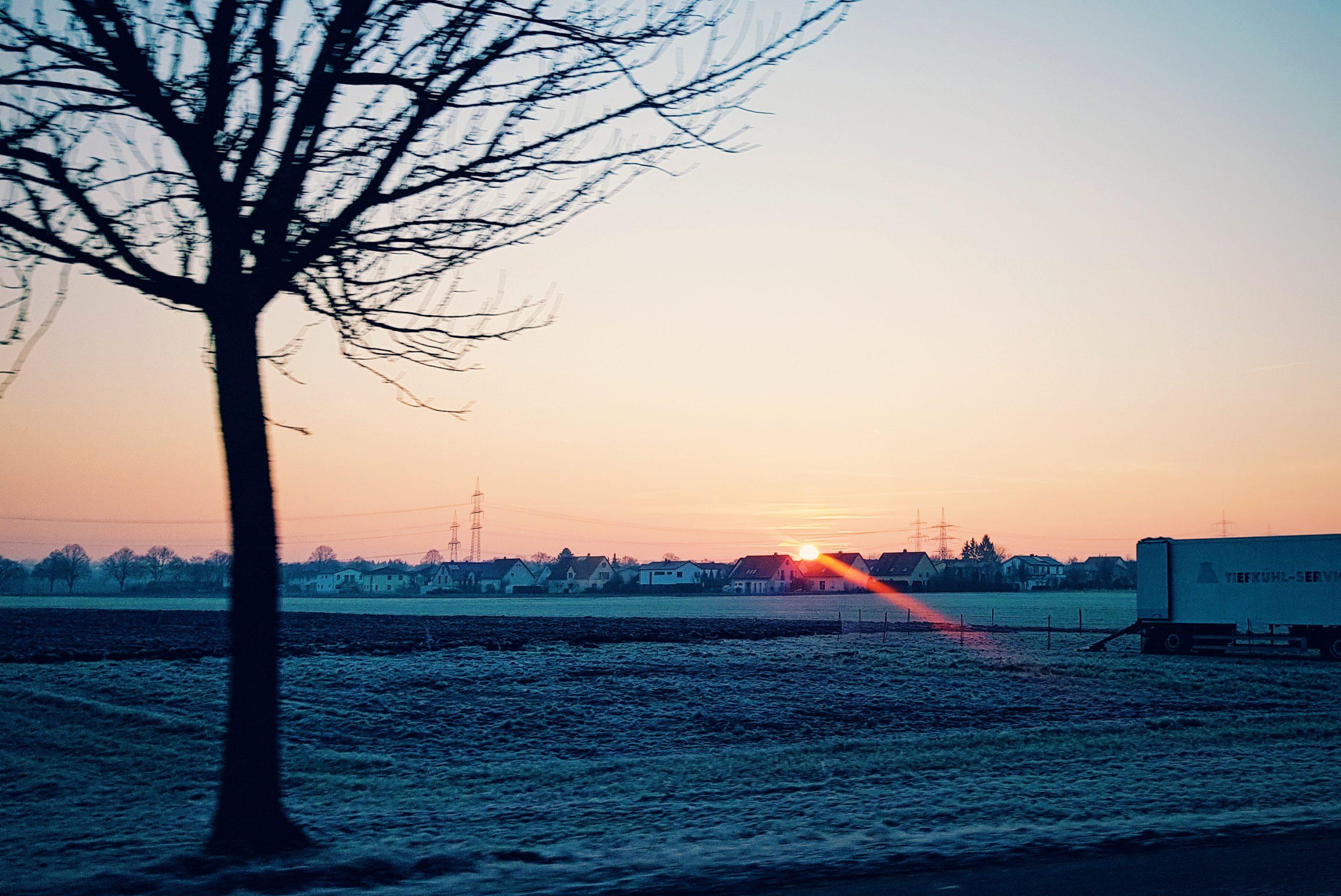 Sunrise Rural Germany
