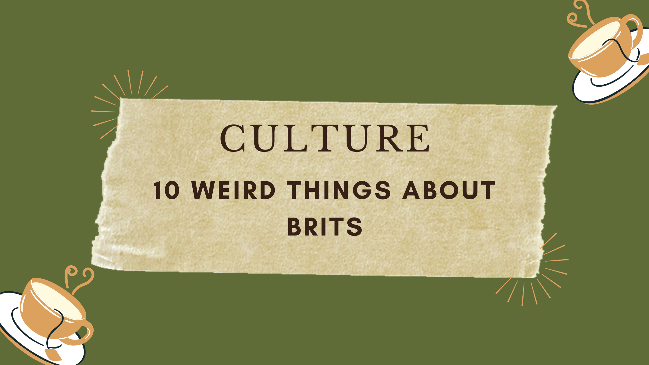Culture: 10 Weird Things About Germans